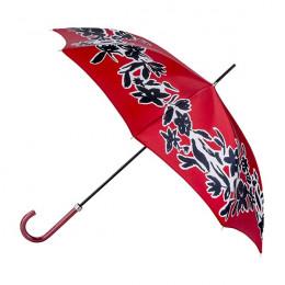 Parapluie Floral Arty Rouge droit ville
