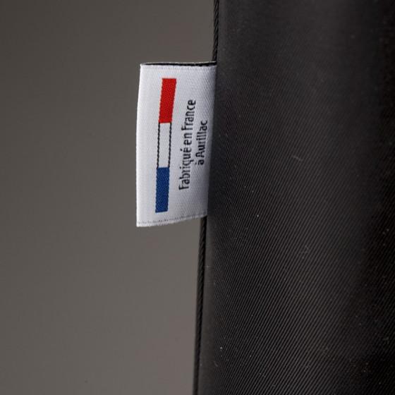 Fabrication France Parapluie Homme Noir droit manuel