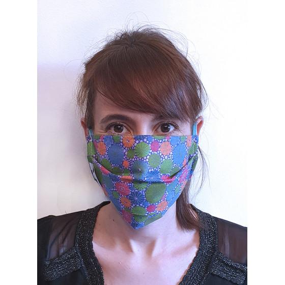 Lot de 2 masques de protection grand public