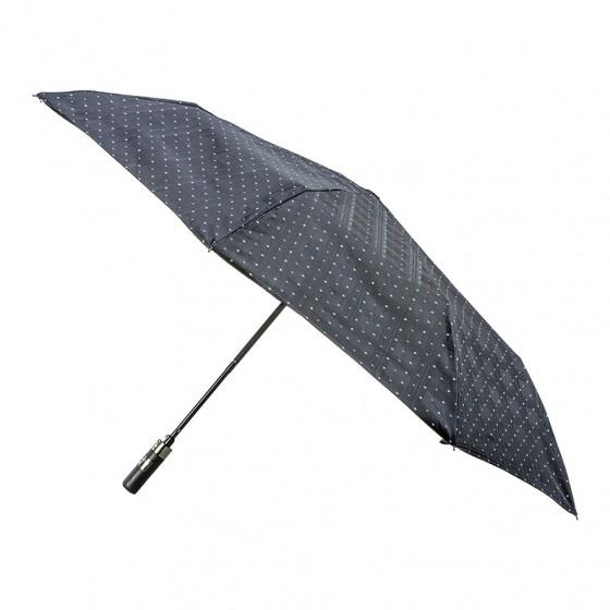 Mini-Parapluie pliant pour Homme Charles automatique poignée bois droite