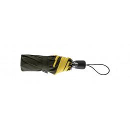 Parapluie Femme Pliant Kaki/Jaune
