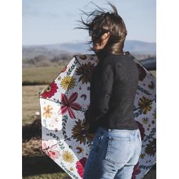 Parapluie Femme Droit Doublé Hippie